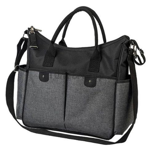 Babyono So City Pelenkázó táska, Fekete-szürke