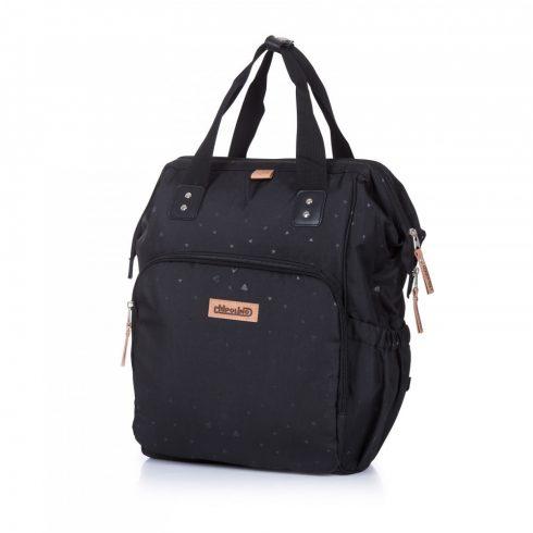 Chipolino babakocsira rögzíthető hátizsák - Brown Leather