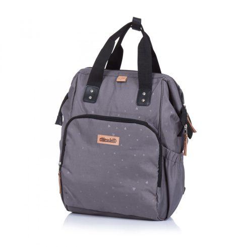 Chipolino babakocsira rögzíthető hátizsák - Black Onix